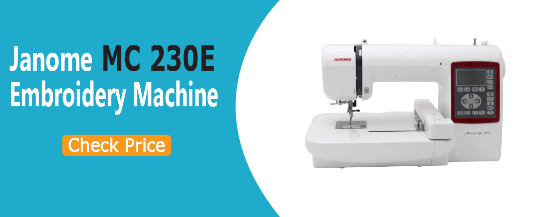 janome 230e embroidery machine reviews